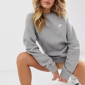 Nike Club Swoosh Crewneck Sweatshirt